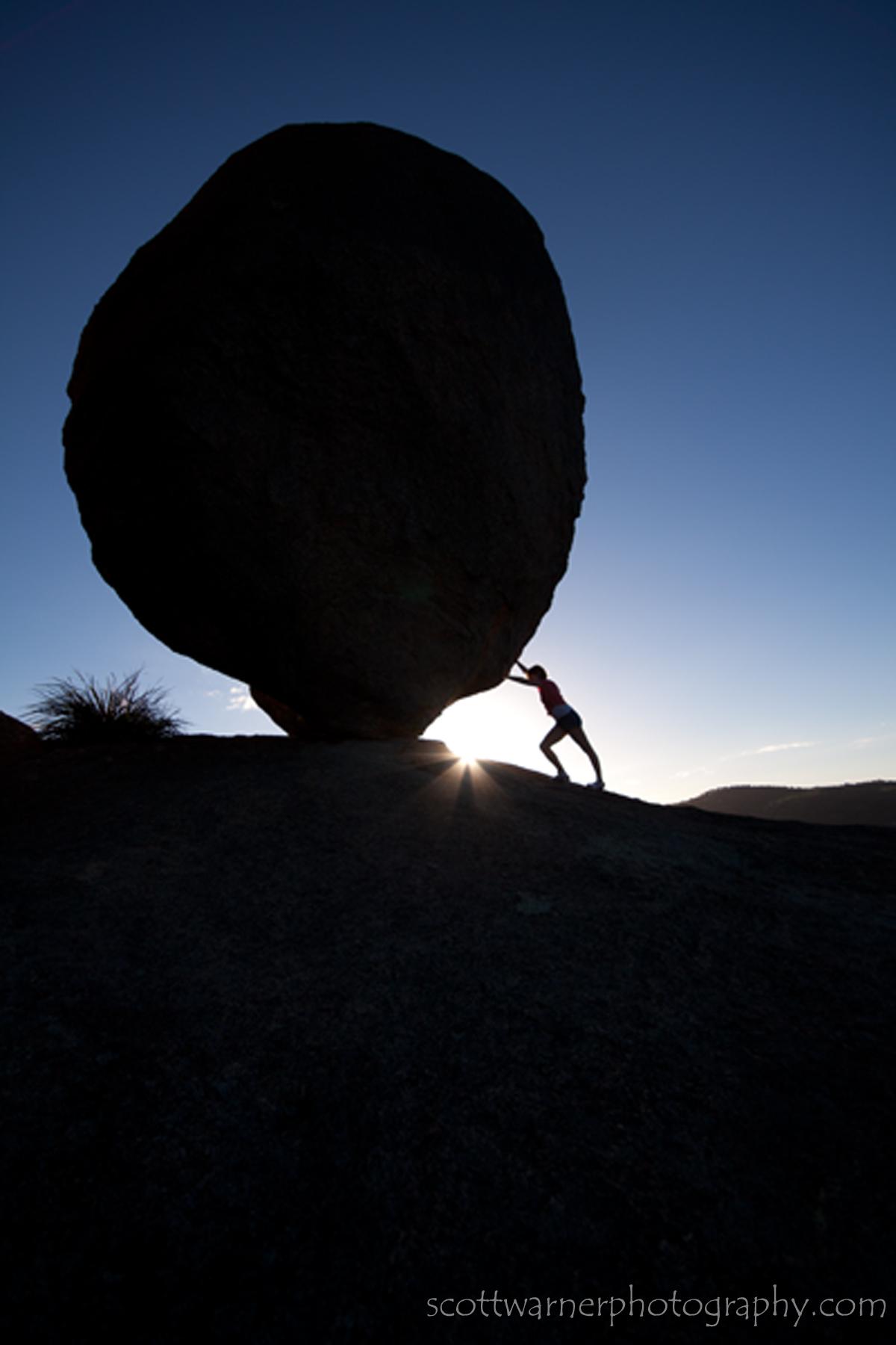 Balancing Rock Girraween